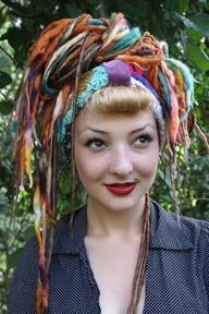 Yarn dreads