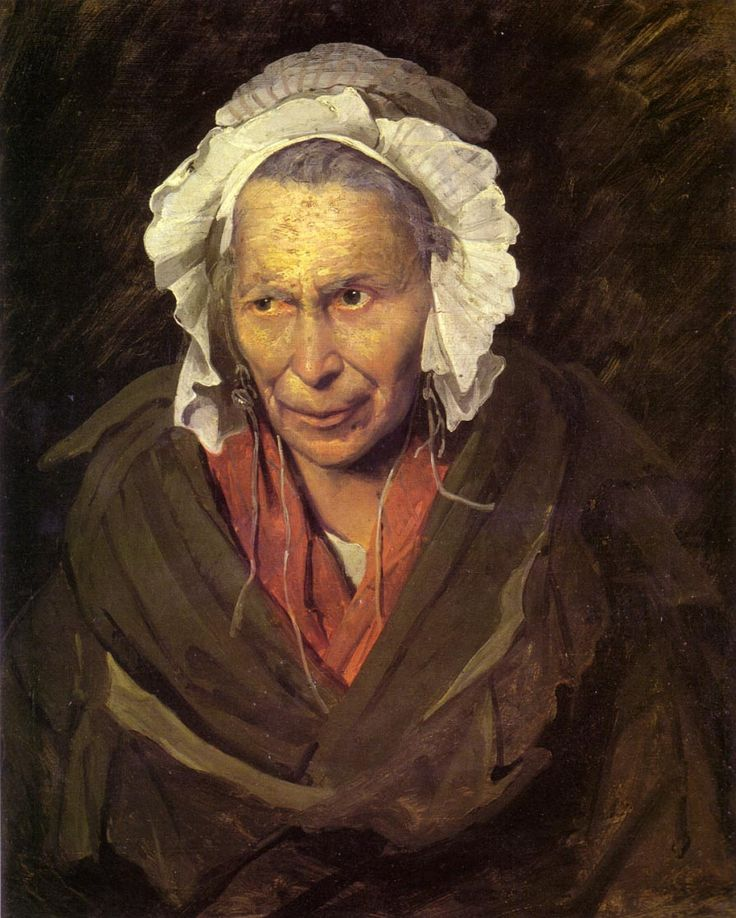 Gericault, L'Envieuse folle, 1822-1833