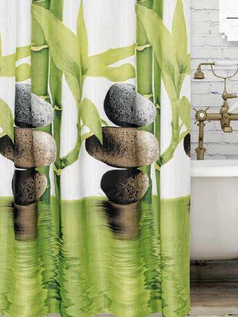 Bamboo zuhanyfüggöny