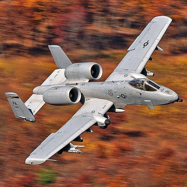 U.S. Air Force A-10 Thunderbolt II Warthog
