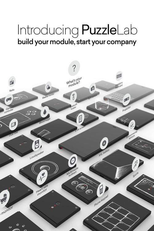 PuzzleLab will help to develop your own modules for PuzzlePhone  #puzzlephone #smartphone #modular