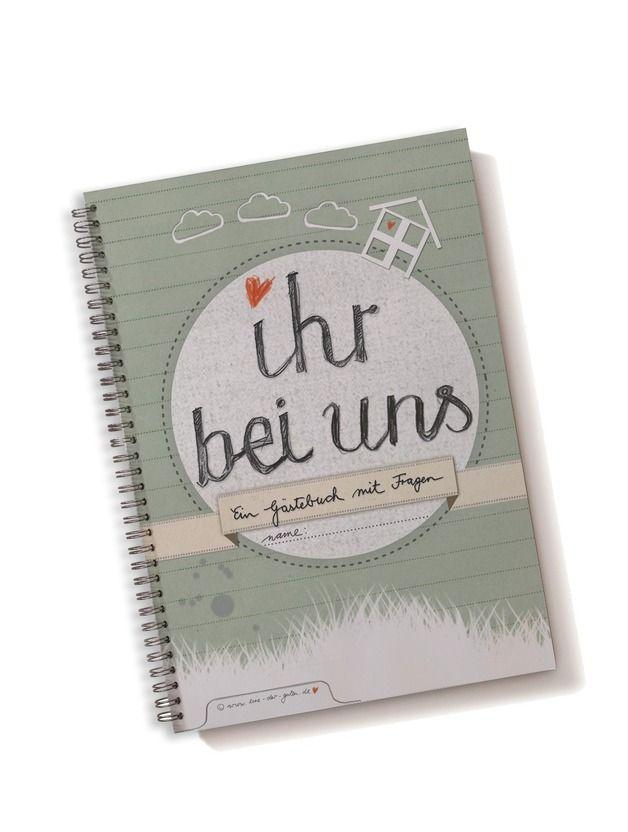 """Nur für die tollsten Besucher der Welt ist dieses Freundebuch für Erwachsene """"Ihr bei uns""""!  Denn nach einer Weile wird euer neues Freundebuch """"Ihr bei uns"""" lauter beschriebene Seiten (und..."""