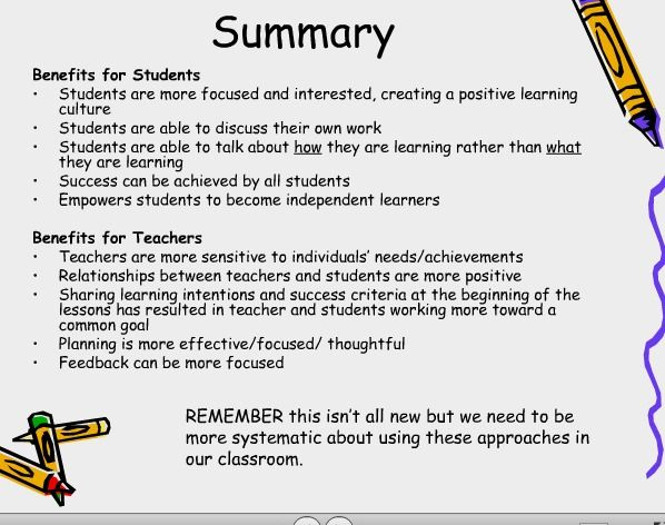 Learning+goals+and+success+criteria - descriptive feedback, nice slide about the positive effects of good feedback