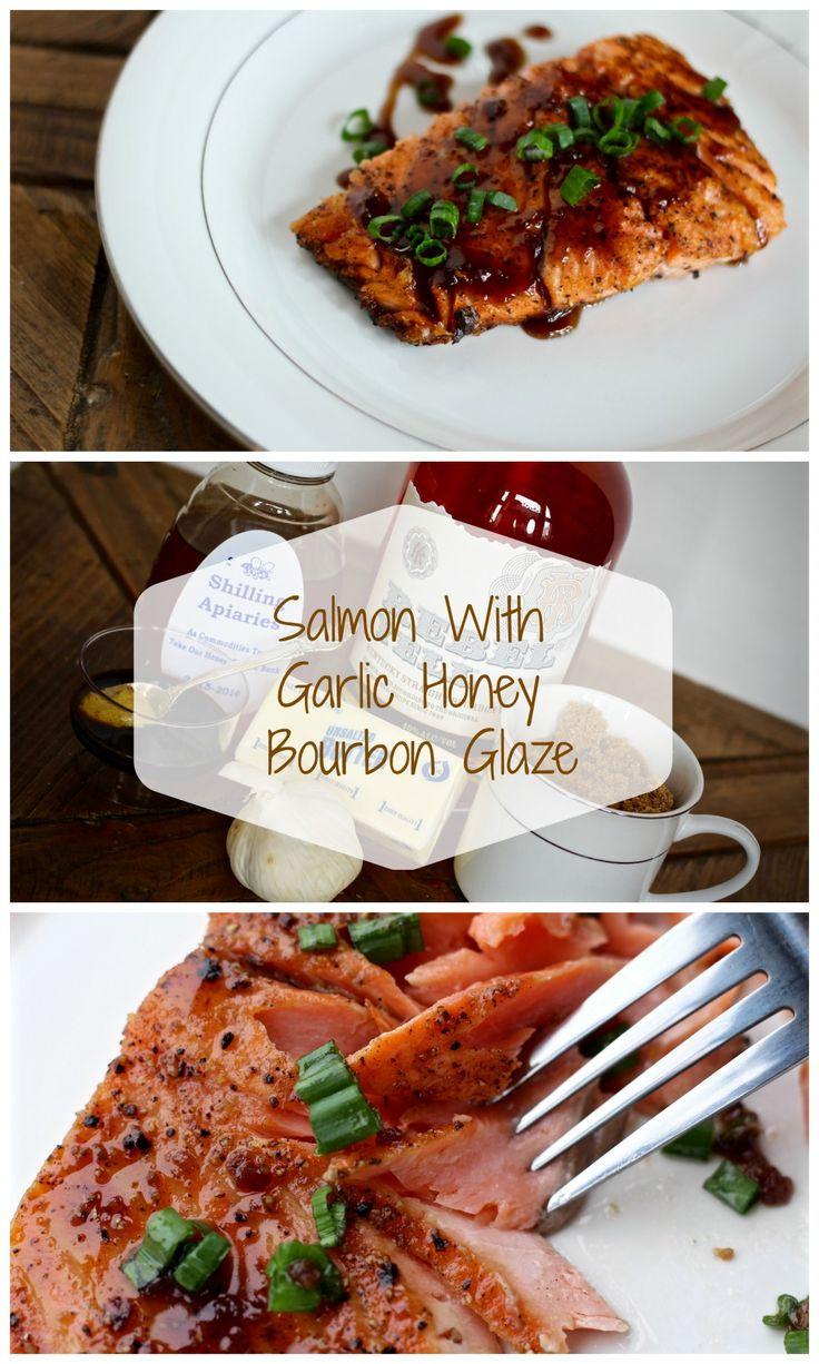 5 Star Restaurant Salmon! The Bourbon Glaze is sooooooo Amazing!!