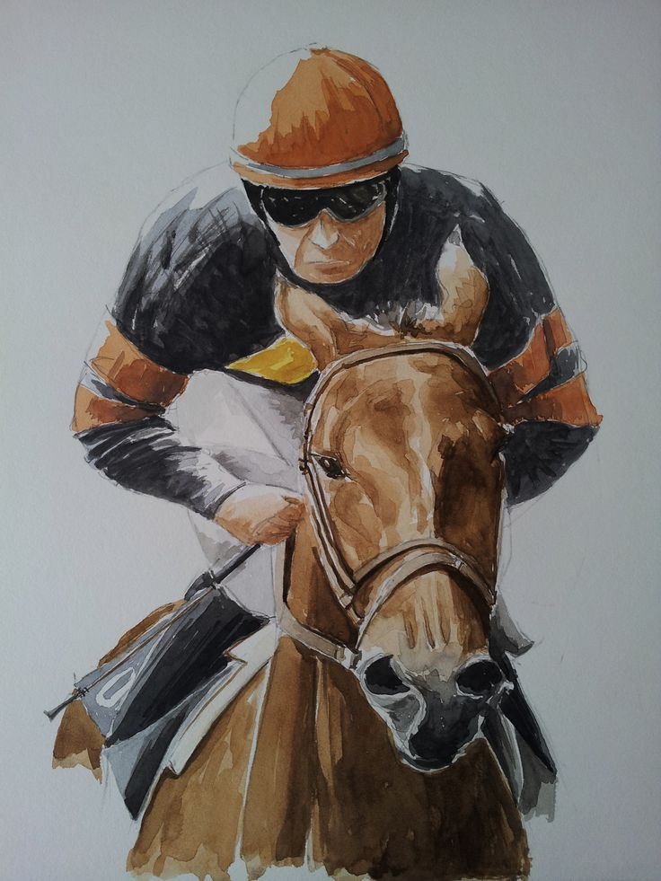 Horse racing-1 SOLD