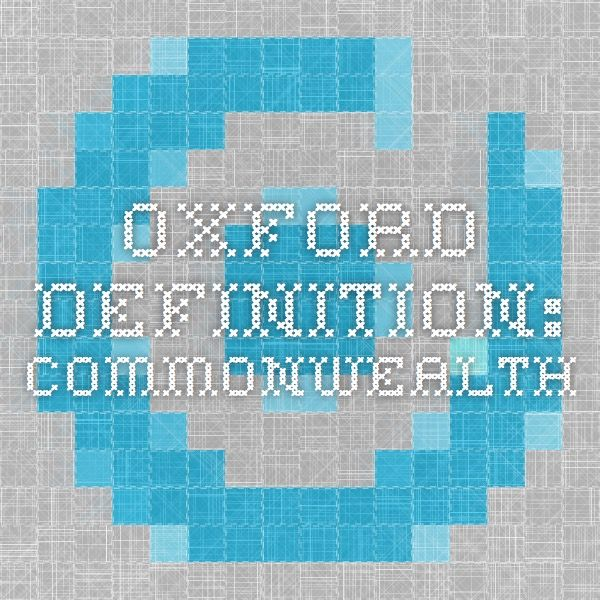Oxford Definition Commonwealth Witch Of Blackbird Pond Oxford