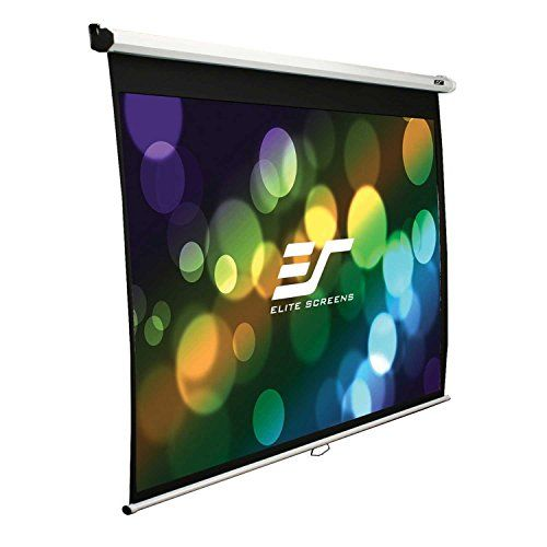 Special Offers - Elite Screens M84XWH-E30 Manual Series Pull Down Projection Screen with Extra 30-Inch Drop 84-Inch - In stock & Free Shipping. You can save more money! Check It (April 17 2016 at 05:25AM) >> http://hometheatersusa.net/elite-screens-m84xwh-e30-manual-series-pull-down-projection-screen-with-extra-30-inch-drop-84-inch/