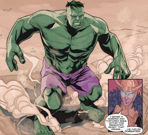 The Hulk in Avengers: The Origin - Phil Noto, Colors: Joe Casey