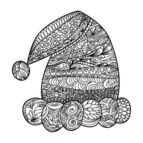 62 best Christmas Free Coloring Pages images on Pinterest - copy coloring sheets of santa for free