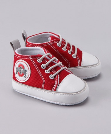 Ohio State University Booties: Running Shoes, Ohio States Universe, Univ Booty, Ohio State University, States Sneakers, Great Gifts, Crimson Ohio, U.S. States, Honey Chicken Kabobs