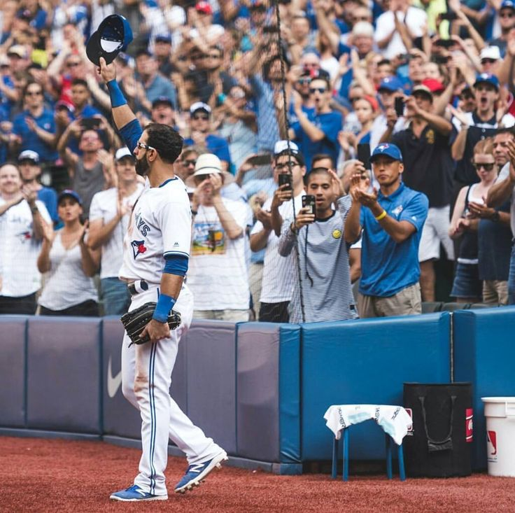 Jose Bautista • September 24, 2017 • Final Home Game