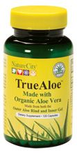 True Aloe Organic Aloe vera Capsules