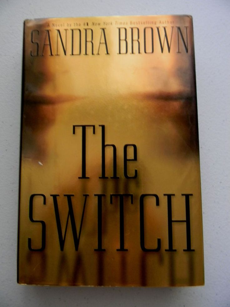 Sandra Brown The Switch Hardcover 2000