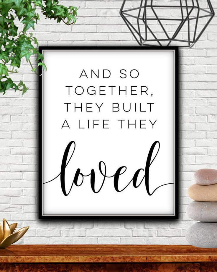 Download And So Together They Built A Life They Loved, And So ...