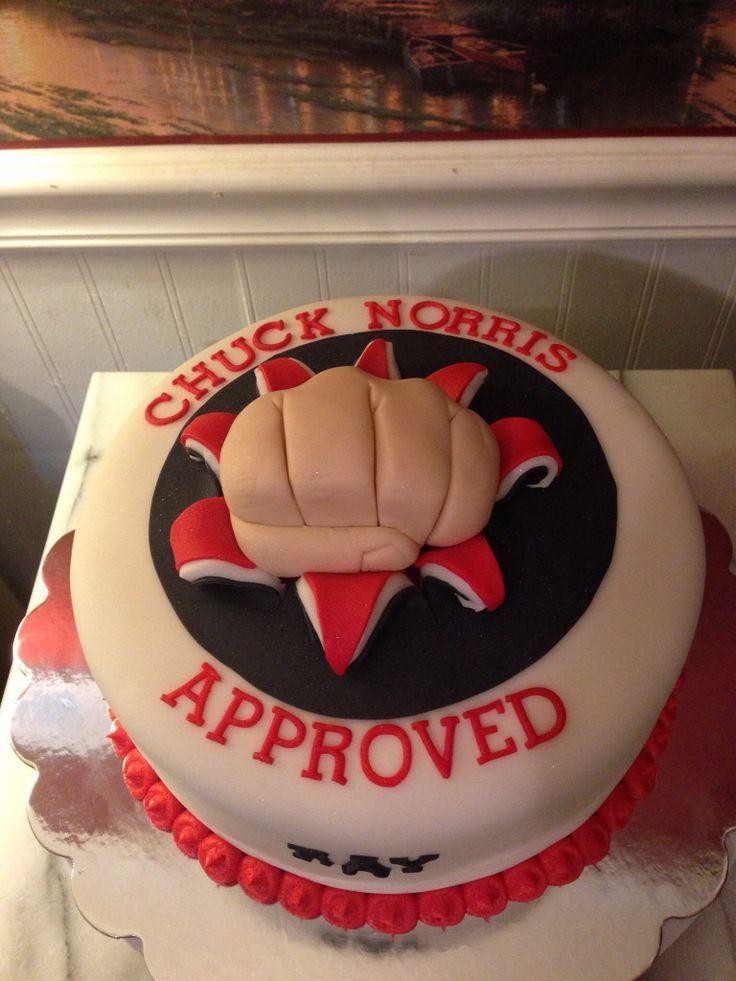 Chuck Norris Birthday Cake (07)