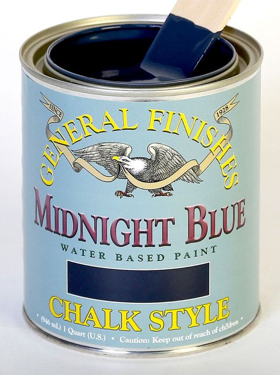 chalk style furniture paint general finishes midnight blue navy blue order from carver. Black Bedroom Furniture Sets. Home Design Ideas