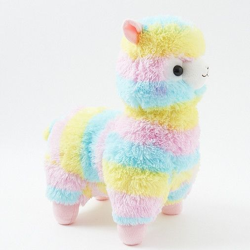 Alpacasso Plushies - Rainbow (Big)