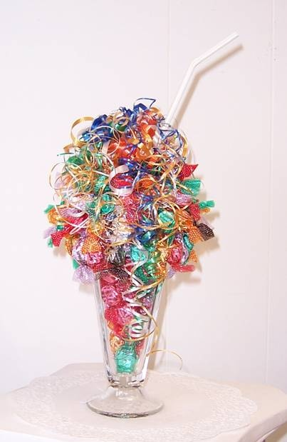 Candy bouquet.