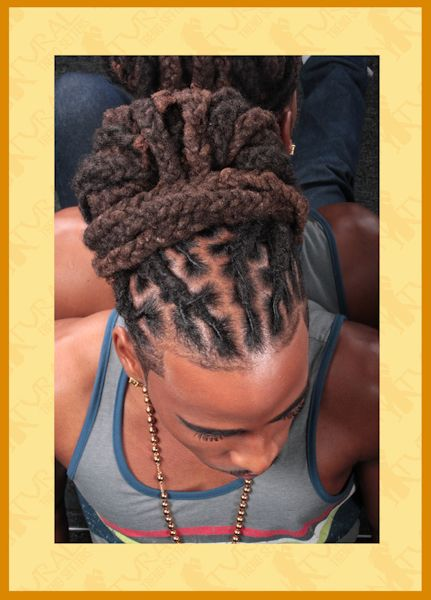 Loc Style for men