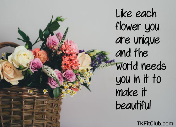 Good morning! #morning #goodmorning #morningquotes #flowers #beautiful #unique #world #happy #newday #beyou #TKFitClub