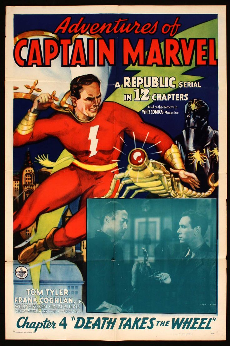 Quot The Adventures Of Captain Marvel Quot Republic Pictures 1941
