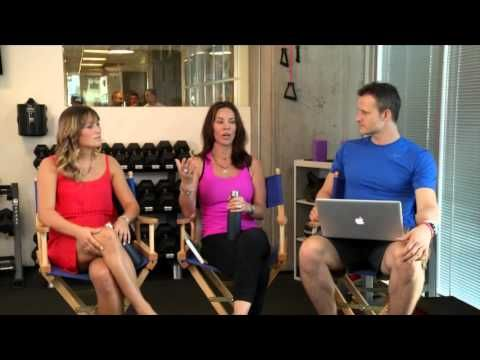 Beachbody LIVE! w/Debbie Siebers - August 28, 2012.