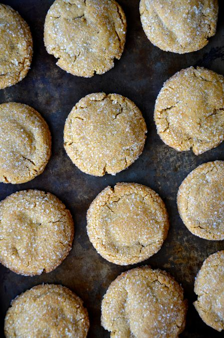 Soft and Chewy Ginger Cookies from justataste.com #recipe