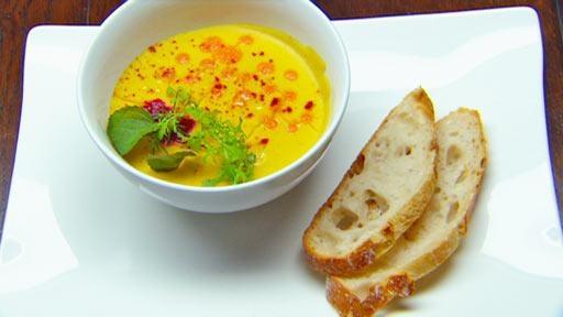 Saffron Lentil Soup