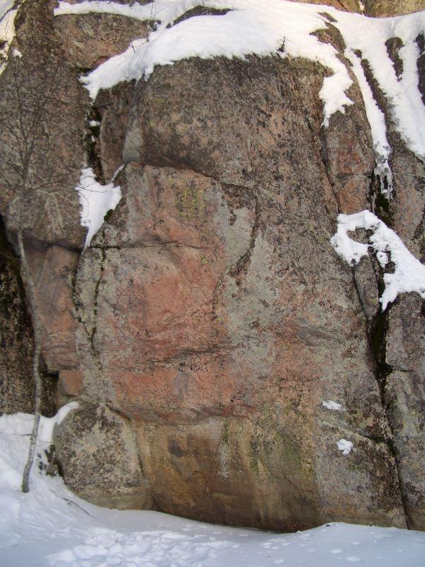 Kalliomaalaus toinen kuva