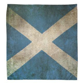 Vintage beunruhigte Flagge von Schottland Halstuch