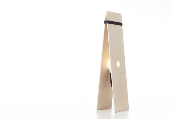 Kolo is a wooden light that fits in an envelope. The aim of the design process was to minimize the use of materials. http://www.imudesign.org/protoshop/news/5/276/KOLO/