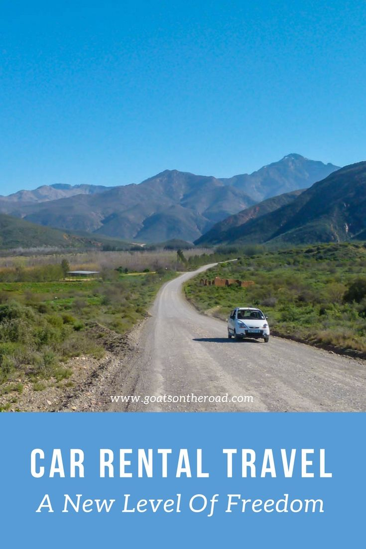 Car rental travel a new level of freedom
