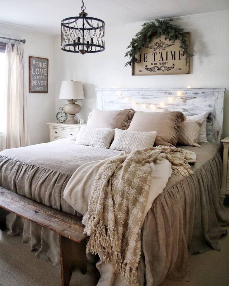 65 Charming Rustic Bedroom Ideas And Designs Farmhouse Bedroom