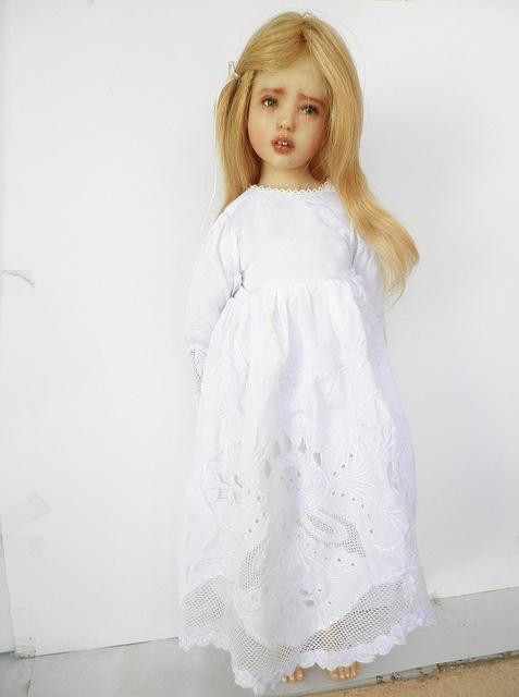 Alice ooak cernit doll by evynadollies, via Flickr