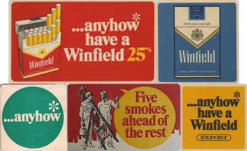 COMING SOON! - The Winfield Collection. Vintage Australian Tobacco Advertising. Over 20 pieces available - Stay Tuned!