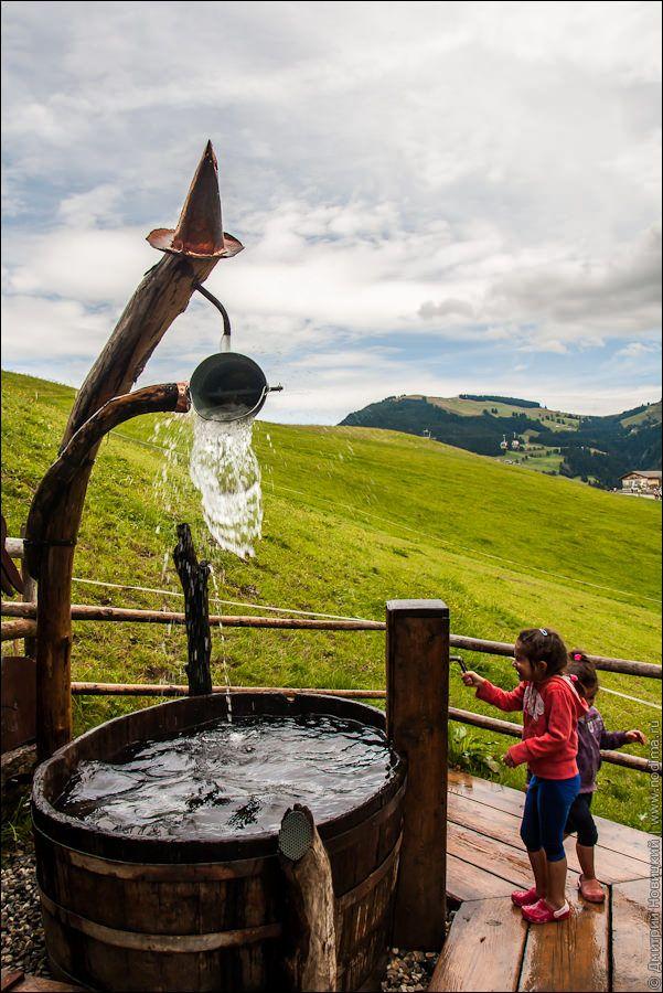 Hexenwasser. Водные развлечения Австрия Тироль и весь сайт путешествия с детьми