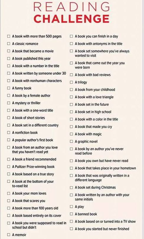 Best 25 book challenge ideas on pinterest reading challenge why not try a reading challenge for your 2015 new years resolution use your local fandeluxe Images