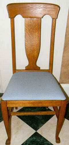 Antique Oak Dining Chairs Chair Design Grid Tiger Dinning Room