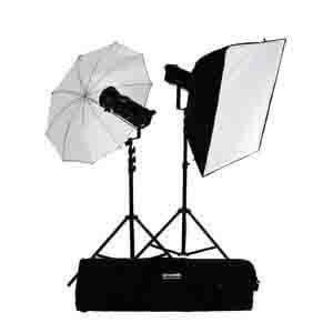 Bowens Gemini 500R/500R 2 Head Studio Kit TX/RX
