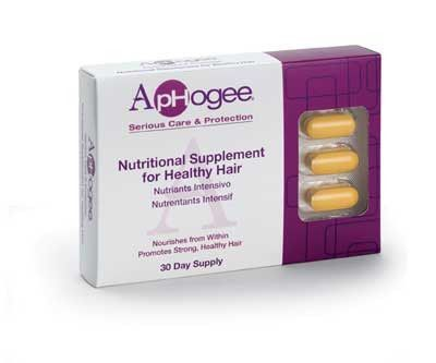 ApHogee Nutritional Supplement For Healthy Hair 30 Tablets