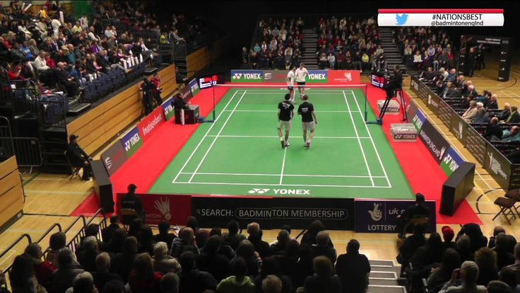 Men's Doubles Final - 2015 English National Badminton Championships.....Want to learn how you can support your passion for badminton by travelling around the world to watch the best badminton championships ? Click the photo to watch the free video that shows you a tried and tested system that will enable you to make money online from home so you can support your badminton passion   #badmintonchampionship #badminton #badmintonfan