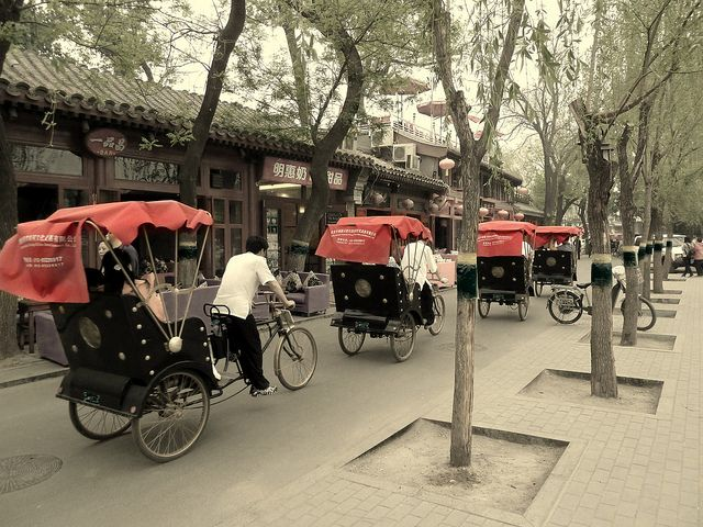 Hutongs - Beijing. This is a must do! Visit a local owners home as well and see what they are like to live in. kf