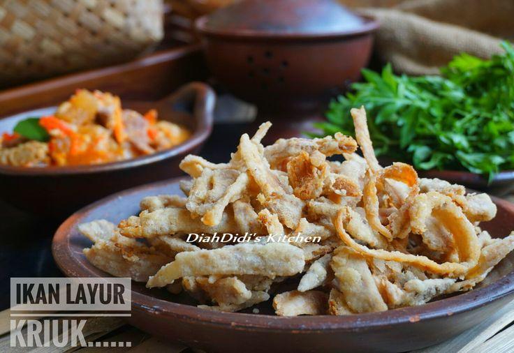 Diah Didi's Kitchen: Ikan Asin Layur Goreng Garing & Sambel Tumpang