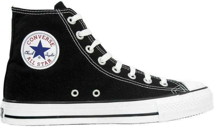 Are converse sneakers, black and white, has its typical star logo navy blue converse, for me it is very beautiful, the cost is £35.