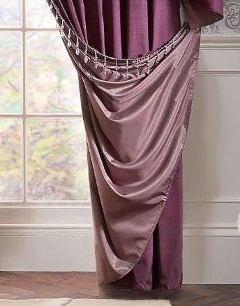 LLB Curtains, very elegant and chic!
