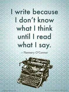 """""""Writing is the only way I have to explain my own life to myself."""" ― Pat Conroy, My Reading Life"""