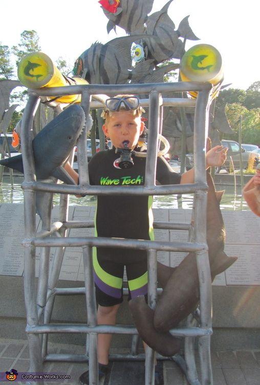 Shark Diver - 2013 Halloween Costume Contest