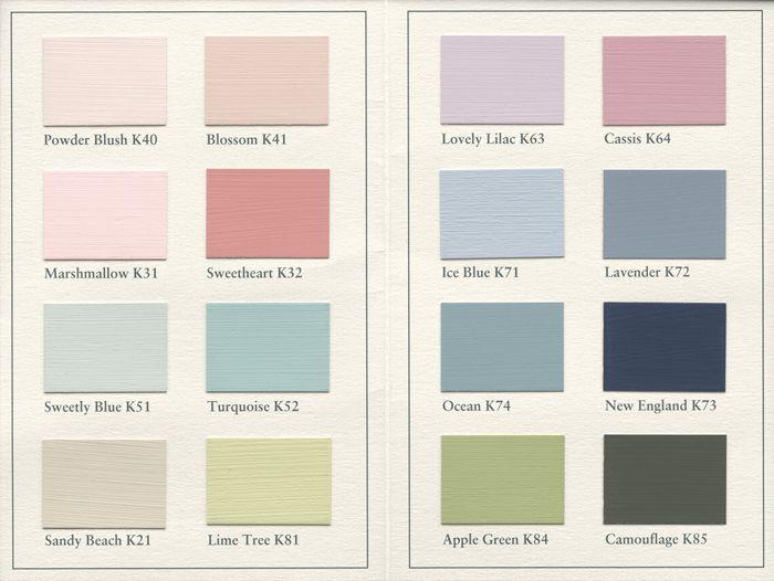 Farbgestaltung Wohnung - Pastell