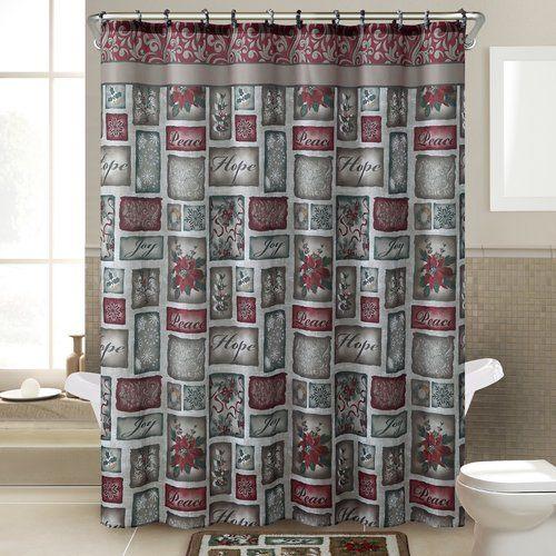 Found it at Wayfair - Patchwork 14 Piece Shower Curtain Set