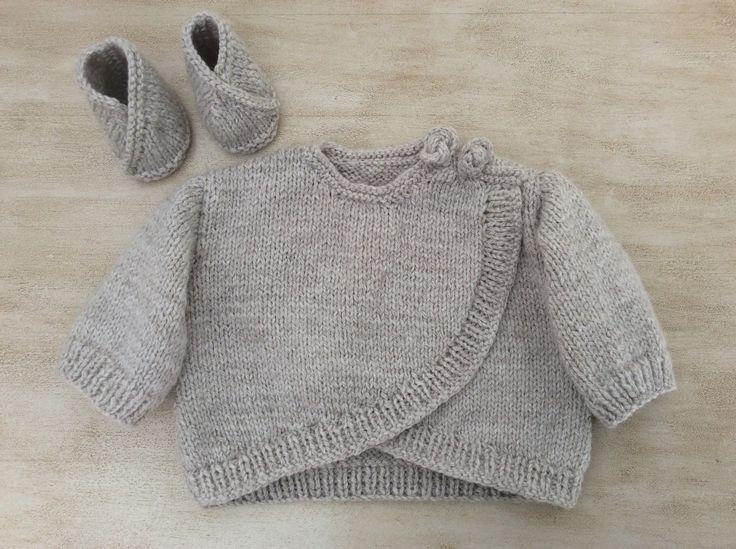 layette tricotee main